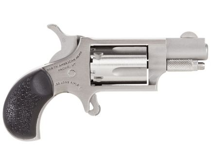 """North American Arms Carry Combo 1.13"""" .22 LR Revolver, Stainless"""