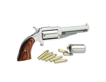 """North American Arms Earl 3"""" .22 LR Revolver With .22 WMR Cylinder, Stainless"""