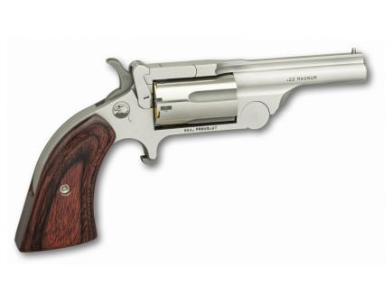 North American Arms Ranger II Break Action .22 WMR Revolver, Stainless