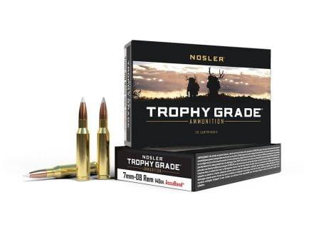 Nosler Trophy Grade 7mm Rem Mag Ammo 140 Grain AccuBond, 20 Rds