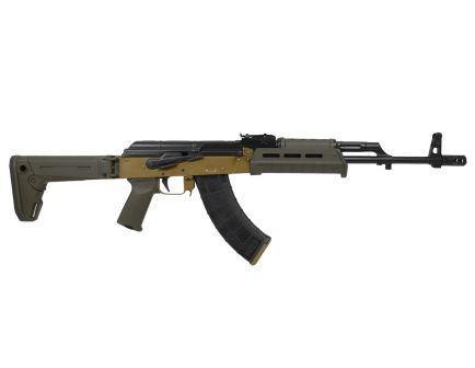 PSA Custom  AK-47 GF3 7.62x39 Folding Stock ALG FCG Zhukov Rifle, Coyote/ODG
