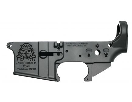 "PSA ""Nutcracker-15"" AR-15 Stripped Lower Receiver - Preorder Item - Ships in 2-3 Weeks"