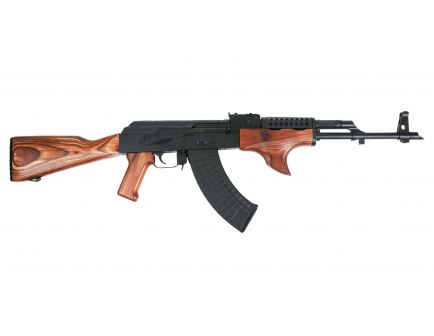 PSAK-47 GF3 Forged Nutmeg Wood Shark Fin with Cheese Grater Upper Hand Guard Rifle - 51655112882