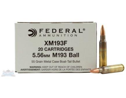 Federal 5.56 Ammo