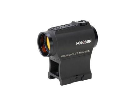 Holosun HS503BU 2 MOA Dot & 65 MOA Circle Micro Red Dot Sight- HS503BU