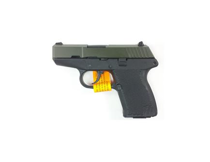 Kel-Tec P-11 9mm Green Slide Black Frame