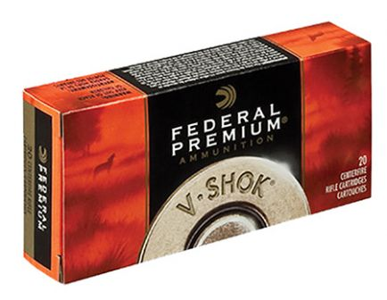 Federal .22 Hornet 30 gr V-SHOK 20 Rounds Ammunition - P22D