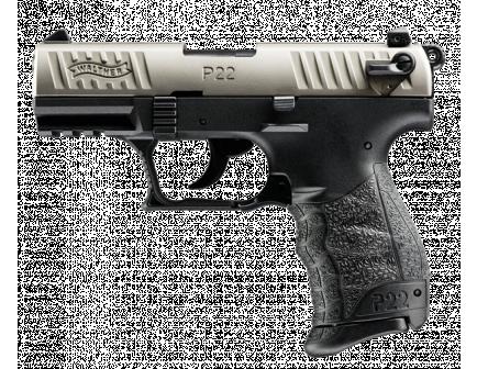 Walther P22 .22LR Nickel 5120325
