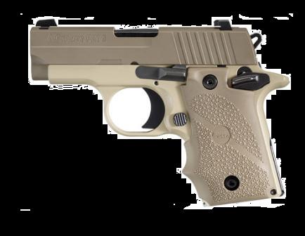 Sig Sauer P238 Desert .380 ACP 7rd Pistol 238-380-DES
