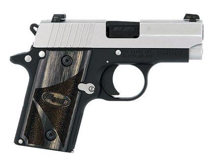 SIG Sauer P238 Handgun Blackwood Grips | 238-380-BG