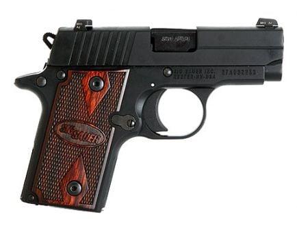 SIG Sauer P238 Handgun Rosewood Grips | 238-380-RG