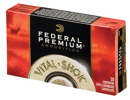 Federal 260 120gr Nosler Ballistic Tip Vital-Shok Ammunition 20rds - P260B
