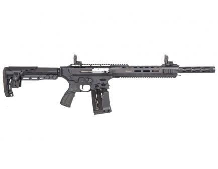 "Panzer Arms AR-12 PRO G2 18.5"" Semi Automatic 12 Gauge Shotgun, Black"