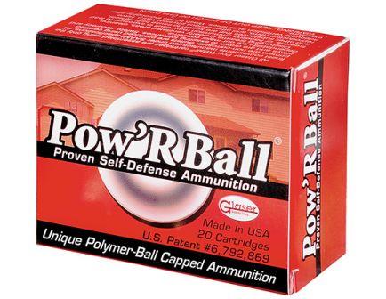 Glaser Pow'rBall 357 Magnum 100gr Ammunition 20rds - PB357100/20