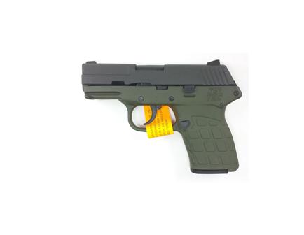 Kel-Tec PF9 9mm Parkerized Slide Green Frame