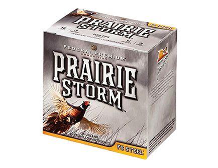 """Federal 12ga 3"""" 1-1/8oz #3 FS """"Prairie Storm"""" HV Steel Shotshells 25rds - PFS143FS 3"""