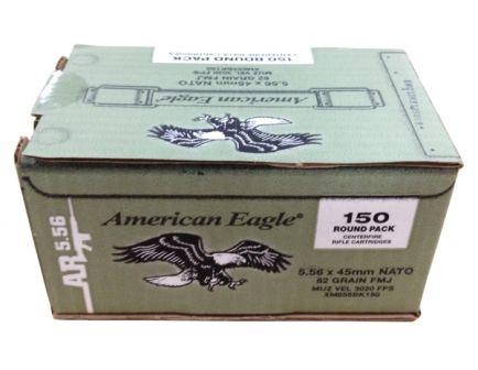 American Eagle 5.56 62 grain m855 ammo 150 rounds