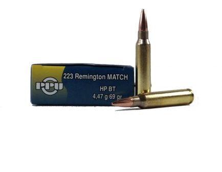 PRVI Partizan 223 69gr Match Ammunition 20rds - PPM2231