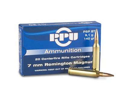 7mm Remington Magnum Ammo Box