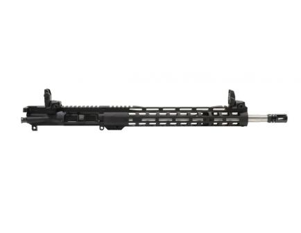 "PSA 16"" Mid-Length 5.56 NATO 1:8 Stainless Steel 13.5"" Lightweight M-Lok Upper With MBUS Sight Set & NiB BCG"