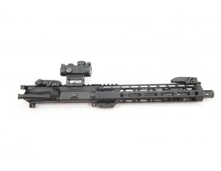 "PSA 10.5"" 5.56 NATO 1/7 Phosphate 10.5"" Lightweight M-Lok Upper With Romeo MSR, MBUS Sight Set, BCG, & CH"