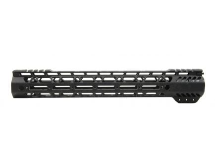 "PSA Custom Cross-Cut Lightweight 13.5"" MLOK Partial Picatinny Handguard"