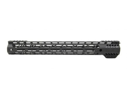 "PSA Custom Cross-Cut Lightweight 15"" MLOK Partial Picatinny Handguard"