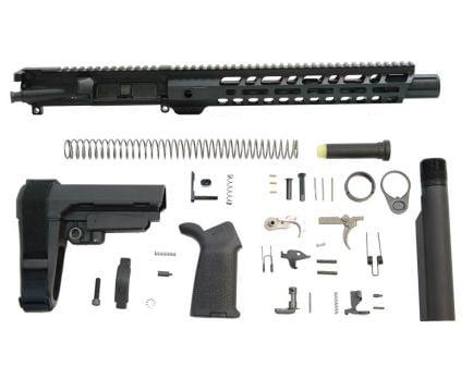"""PSA 10.5"""" Pistol-Length 300AAC 1/8 Nitride 12"""" Lightweight M-Lok MOE EPT SBA3 Pistol Kit"""