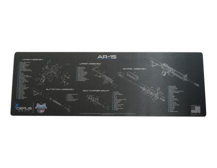 PSA Custom AR-15 Rifle Cleaning Mat, Charcoal - AR15MAT