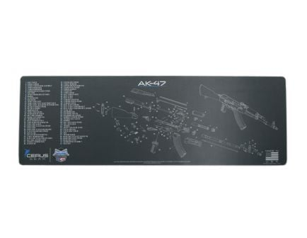 PSA Custom AK-47 Rifle Cleaning Mat, Charcoal - AK47MAT