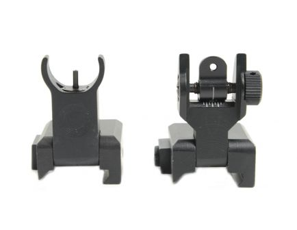 PSA Custom Front and Rear Aluminum Folding Back Up Sights - 116089