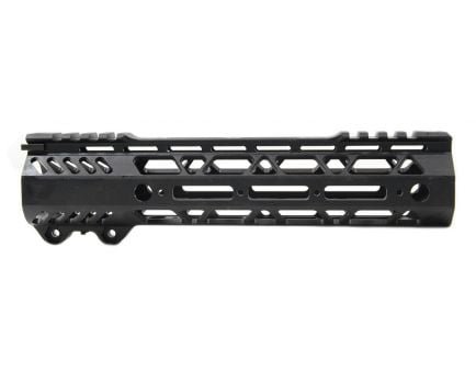 "PSA Custom Cross-Cut Lightweight 9"" MLOK Partial Picatinny Handguard"