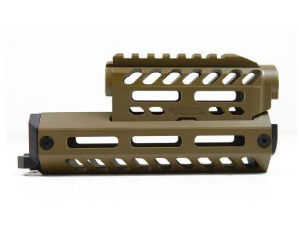 PSA Custom Series AK Billet Aluminum Handguard, Coyote