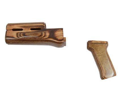 PSA CUSTOM SERIES AK-47 NUTMEG FURNITURE SET WITHOUT STOCK