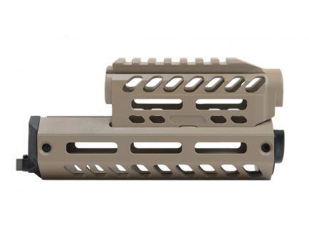 PSA Custom Series AK Billet Aluminum Handguard, Tan