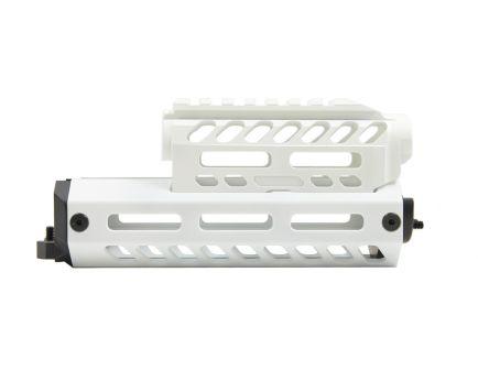 PSA Custom Series AK Billet Aluminum Handguard, Arctic White