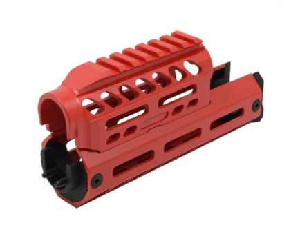 PSA Custom Series AK Billet Aluminum Handguard, Red