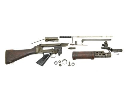 Israeli FN FAL Hebrew Light Barrel Used Parts Kit - No Barrel, No Receiver, and No Magazine