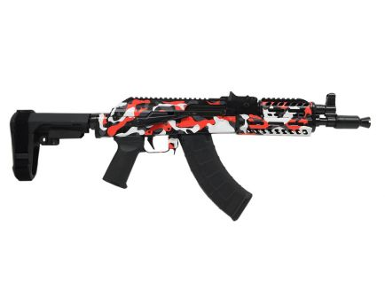 "PSA Custom ""Urban Combat"" AK-P MOE ALG Fire Control Group Rail Pistol w/ SBA3 Brace"