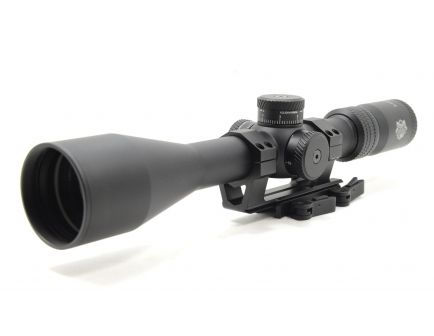 PSA Custom PS201 6-24x50mm Riflescope w/ 30mm QD Mount & Sunshade
