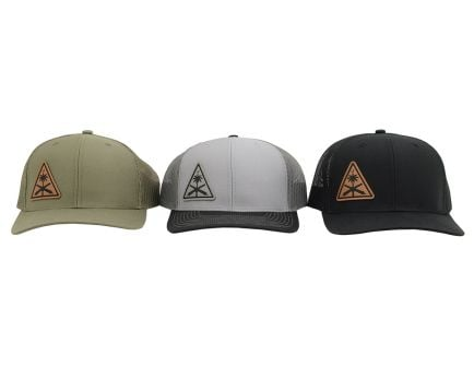 PSA Custom AK Roll Mark Offset Leather Patch Hat