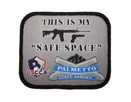 """PSA """"This is My Safe Space"""" USCCA Morale Patch (2.5""""x3"""")"""