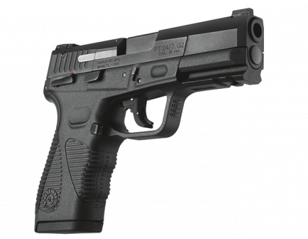"Taurus PT24/7 G2 9mm DA/SA DS STD, 4.2"" 17 +1 rd Blue 1-247091G2-17"