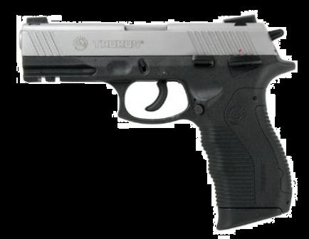 Taurus PT-809 9mm Stainless Steel Slide 17rd Pistol 1-809049
