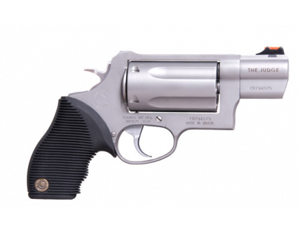 Taurus Judge Public Defender 45 Colt Revolver in Matte Stainless