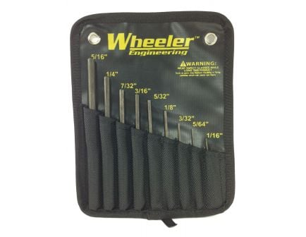 Wheeler Delta Series Roll Pin Punch Set: 204513