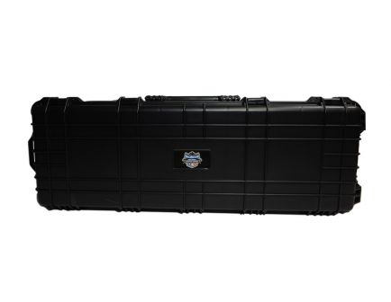 "PSA Custom 44"" Hard Shell Rolling Rifle Case, Black - 10193"