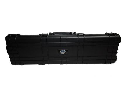 "PSA Custom 53"" Hard Shell Rolling Rifle Case, Black - 10191"
