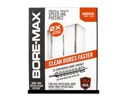 """Real Avid Bore Max Speed Jag 4"""" L Refill Pack, 250 Patches"""