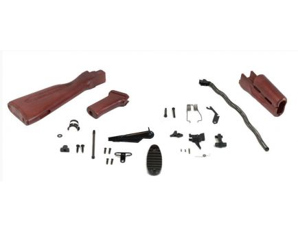 PSAK-47 GB2 Red Wood Rifle Build Kit with ALG Defense AKT Fire Control Group - 516444720